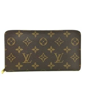 Auth Louis Vuitton Porte Monnaie Zippy #1036L17